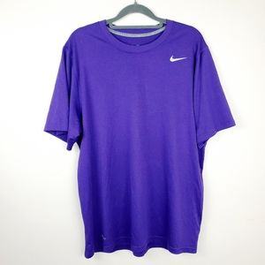 Nike | Men's Dri-Fit Purple Active Tee